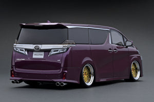IG1674 Toyota Vellfire (30) ZG Purple Metallic