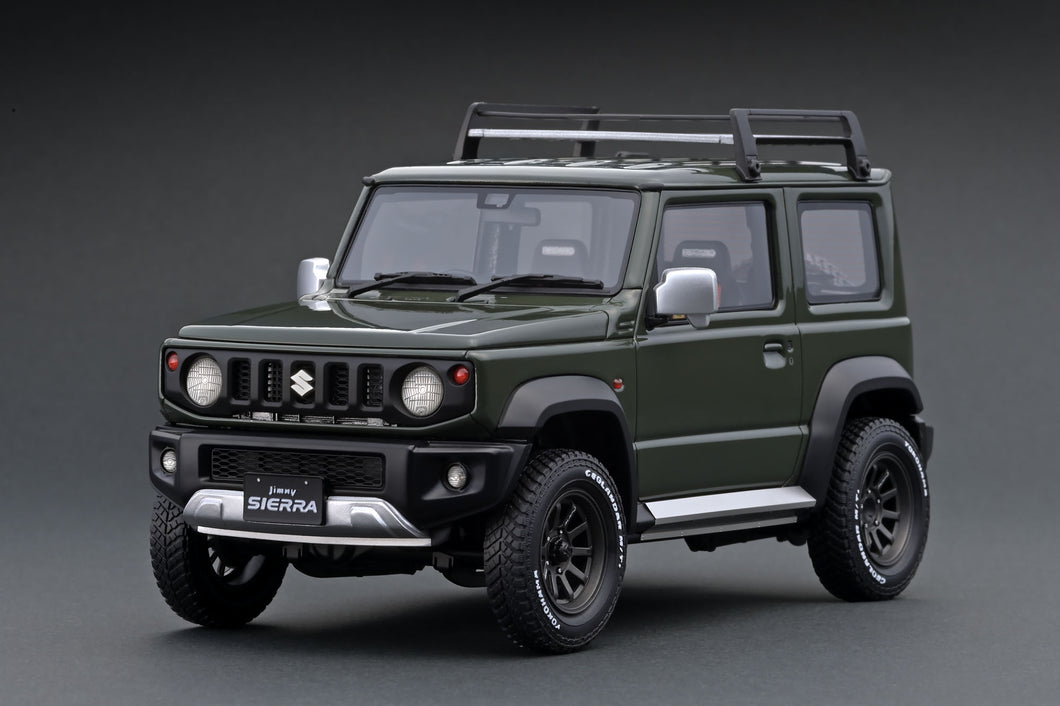 IG1704 SUZUKI Jimny SIERRA JC (JB74W) Jungle Green Lift Up