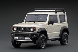 IG1705 SUZUKI Jimny SIERRA JC (JB74W)  Pure White Pearl  Lift Up --- PREORDER (delivery in Jan/Feb 2021)
