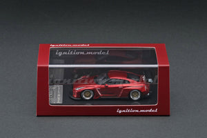 IG1/64 DIECAST COLLECTION  PANDEM R35 GT-R White, Red Metallic, Green Metallic & PANDEM TOYOTA 86 V3 Purple Metallic