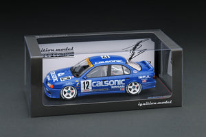 IG online shop limited!  IG1761 1/18 CALSONIC PRIMERA (#12) 1994 JTCC INTERTEC FUJI  With Mr. Hoshino