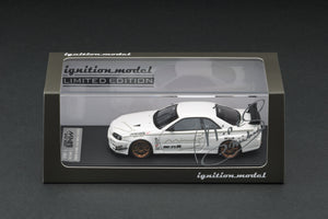 "IG online shop limited!  IG1817  Nissan Skyline GT-R Mine's (R34) White (""HOBBY FORUM"" Japan event exclusive)"