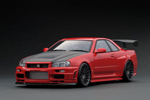 IG1831 Nismo R34 GT-R R-tune Red