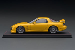 IG1833  Mazda RX-7 (FD3S) Mazda Speed Aspec Yellow