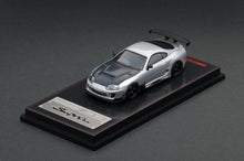 IG1/64 DIECAST COLLECTION  Toyota Supra (JZA80) RZ White, Silver & Gold