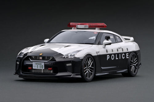 IG1901 Nissan GT-R (R35) 2018  栃木県警察高速道路交通警察隊車両  (TOCHIGI POLICE EXPRESS WAY PATROL) --- PREORDER (delivery in Aug 2020)
