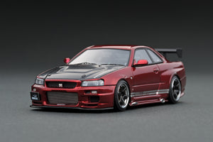 IG1904 TOP SECRET GT-R (BNR34) Red Metallic