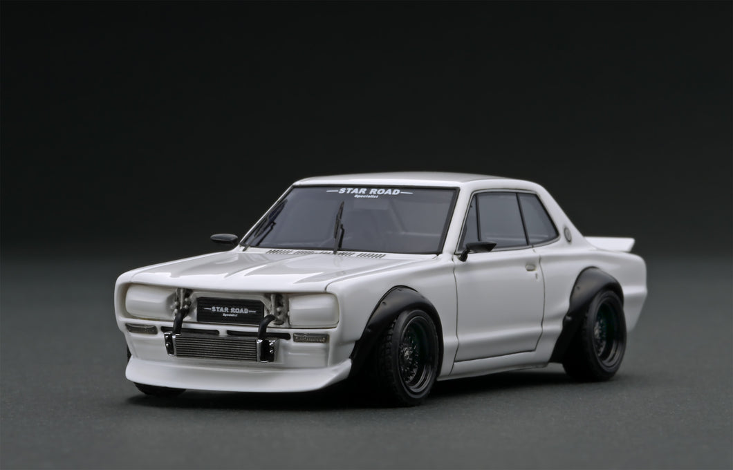 IG1912 Nissan Skyline 2000 GT-R (KPGC10)STAR ROAD  White