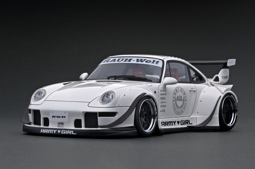 IG1961 RWB 993 Pearl White --- PREORDER (delivery in Nov 2020)