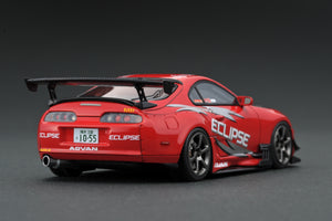 IG Nismo Festival 2019 limited!  IG1977  1/43 Toyota Supra (JZA80) RZ ORIDO-STREET Ver.2 Red With Mini T-shirt
