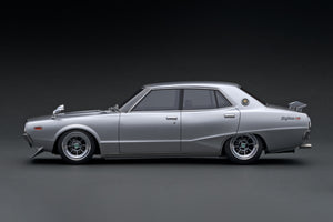 IG1978 Nissan Skyline 2000 GT-X (GC110)  Silver --- PREORDER (delivery in Sep/Oct 2020)