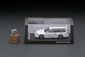 IG online shop limited!  IG2077  Nissan STAGEA 260RS (WGNC34) Pearl White  With Engine