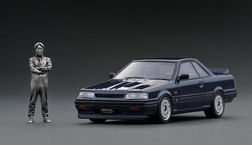 IG online shop/event special! IG2087 Nissan Skyline GTS-R (R31) Blue Black  With Mr. Hoshino