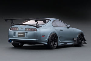 IG2106  Toyota Supra (JZA80) RZ Matte Gray --- PREORDER (delivery in Aug 2020)