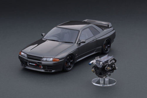 IG online shop/event special! IG2114 NISMO BNR32 CRS With Engine