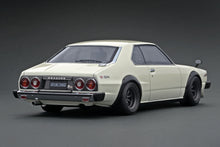 IG2163 Nissan Skyline 2000 GT-ES (C210) White --- PREORDER (delivery in Oct/Nov 2020)