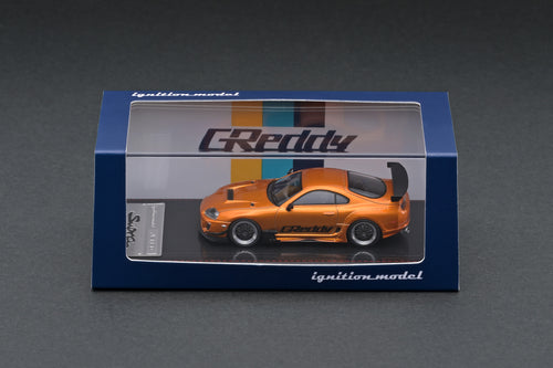 IG2238 Toyota Supra (JZA80) RZ  Orange Metallic GReddy Ver.