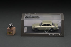 COMING SOON!! IG online shop limited!  IG2250 Nissan Skyline 2000 GT-R (PGC10) Silver  With Engine