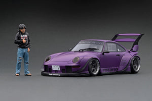 IG online shop/event special! IG2262  RWB 993 Matte Purple  With Mr. Nakai figurine