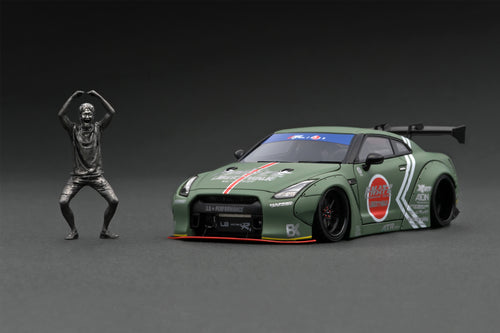 COMING SOON!! IG online shop limited!  IG2268  LB-WORKS Zero Fighter GT-R(R35) Tokyo Auto Salon 2015 With Mr. Kato