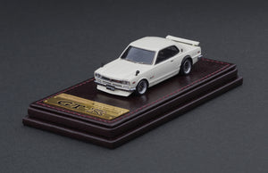 IG2303 Nissan Skyline 2000 GT-R (KPGC10)  White --- PREORDER (delivery in Jan 2021)