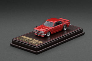 IG2305 Nissan Skyline 2000 GT-R (KPGC10) Red --- PREORDER (delivery in Q1/2021)