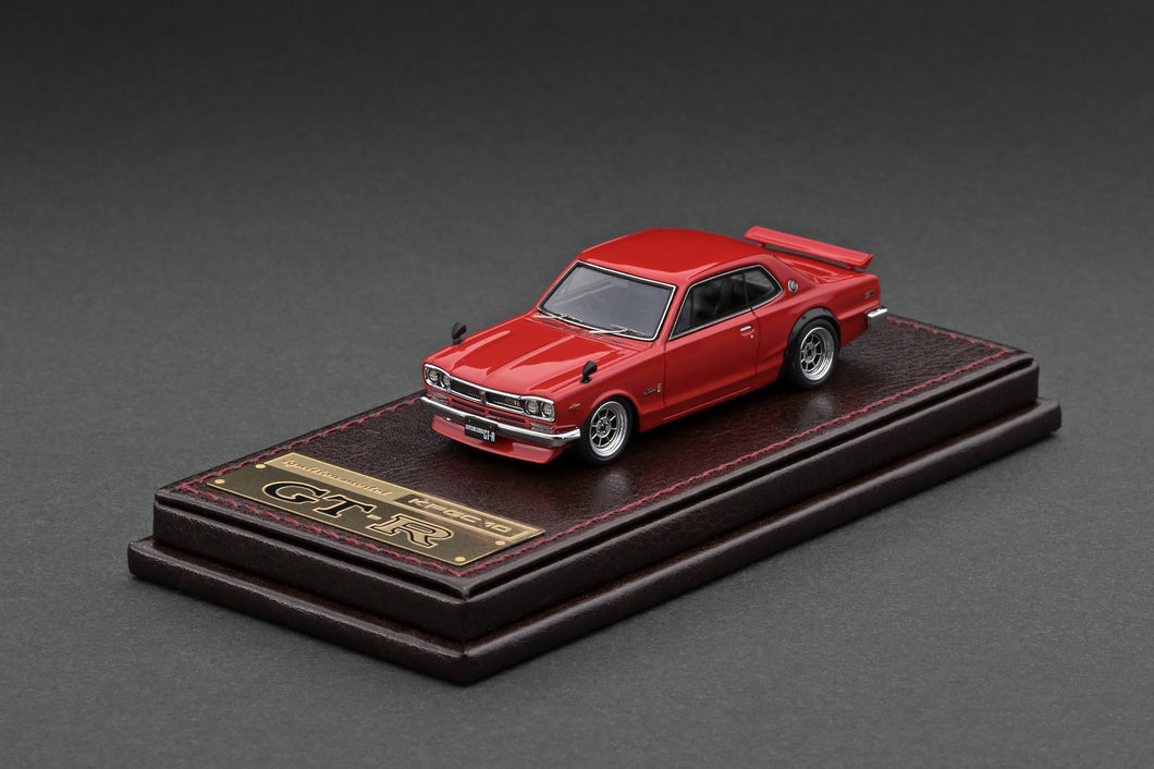 IG2305 Nissan Skyline 2000 GT-R (KPGC10) Red --- PREORDER (delivery in May/Jun 2021)