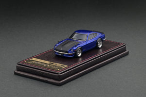 IG2311 Nissan Fairlady Z (S30) Blue Metallic  (Bonnet Matte Black) --- PREORDER (delivery in Q1/2021)