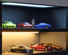 IG online shop/event special! IG2318 IG-Model Showroom Diorama with 2cars (Supra Silver, NSX Yellow)