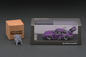COMING SOON!!  IG online shop/event special! IG2322 RWB 993 Matte Purple  With Mr. Nakai sitting on sofa