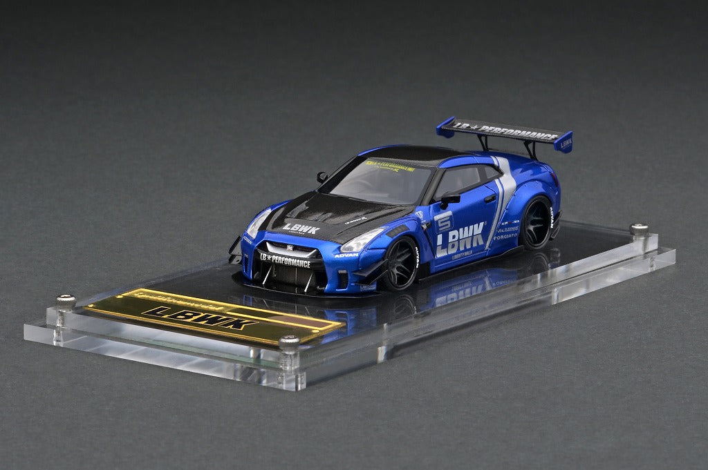 IG2368 LB-WORKS Nissan GT-R R35 type 2  Blue --- PREORDER (delivery in Jul-Sep 2021)