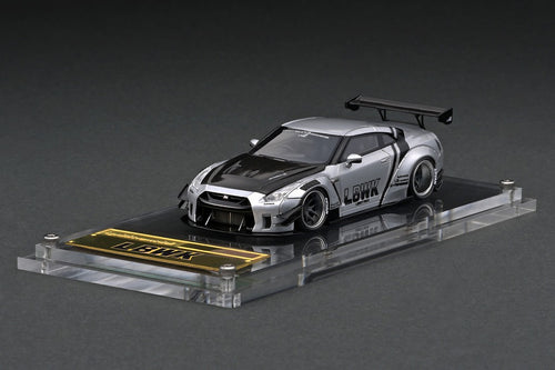 IG2369 LB-WORKS Nissan GT-R R35 type 2  Silver --- PREORDER (delivery in Jul-Sep 2021)