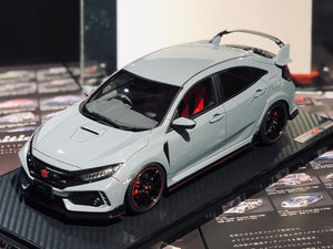 IG1963  1/18 Honda CIVIC (FK8) TYPE R Sonic Gray Pearl <IG online shop limited>