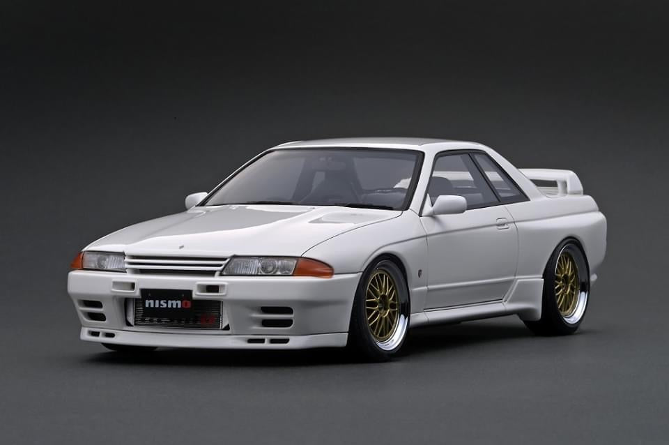 IG2166 Nissan Skyline GT-R NISMO (BNR32)  White --- PREORDER (delivery in Nov/Dec 2020)