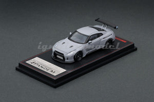 IG1/64 DIECAST COLLECTION  PANDEM R35 GT-R Matte Gray, Blue Metallic & PANDEM TOYOTA 86 V3 Green Metallic, Red Metallic