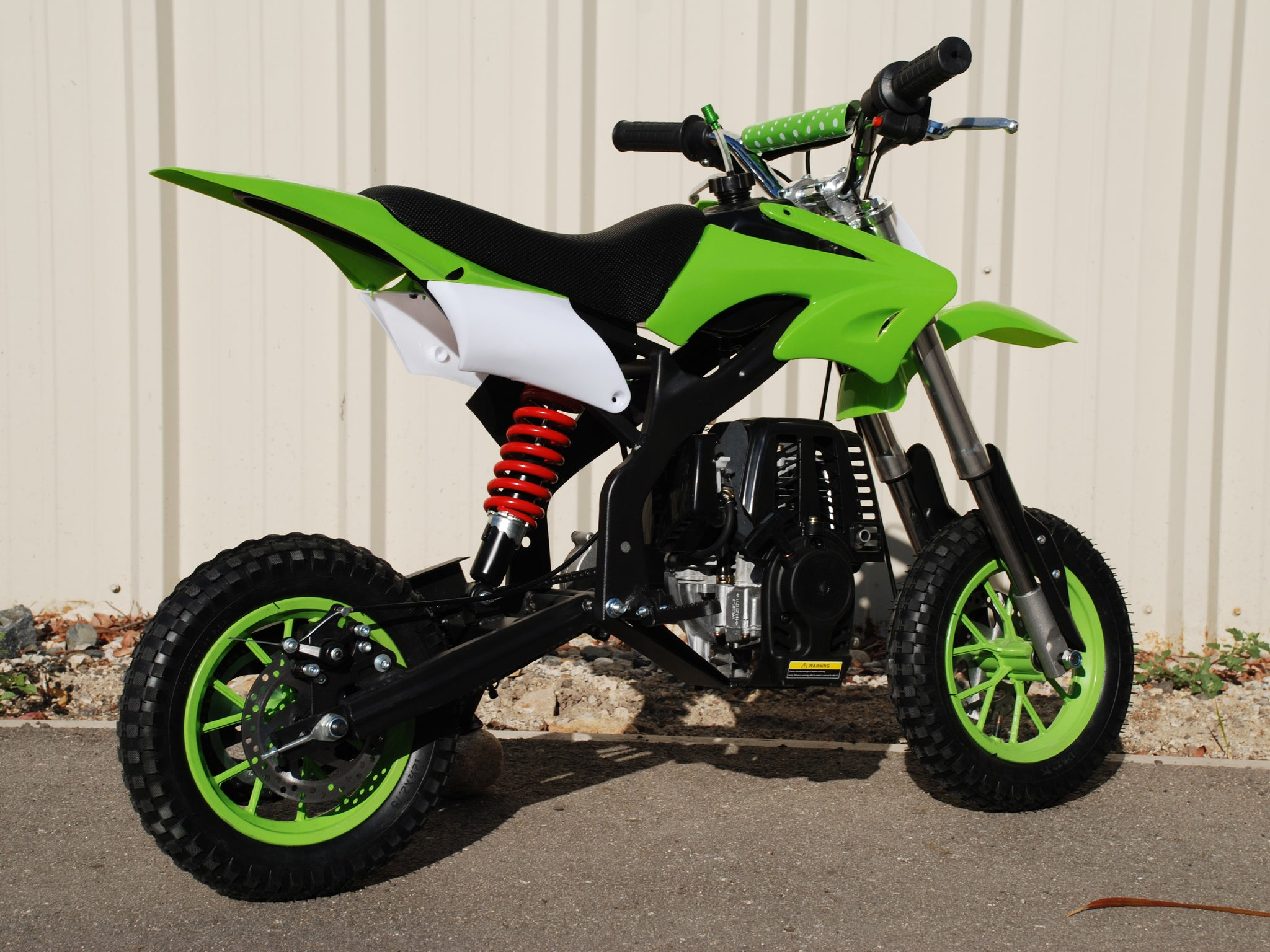 Gas Powered Mini Dirt Bike 40cc 4 Stroke Larger Pit Bike Usa