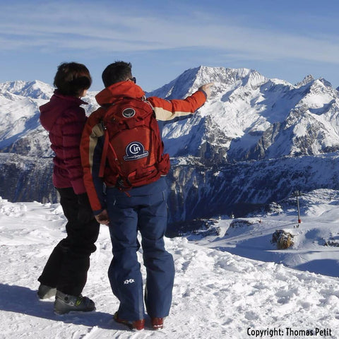 Private ski or snowboard lesson from Le Cercle