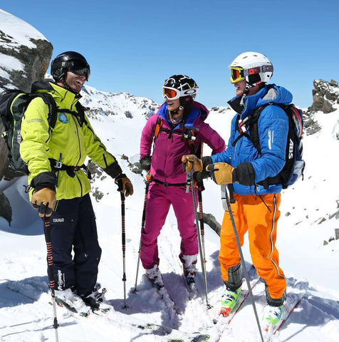 Ski lesson in Meribel from Prosneige