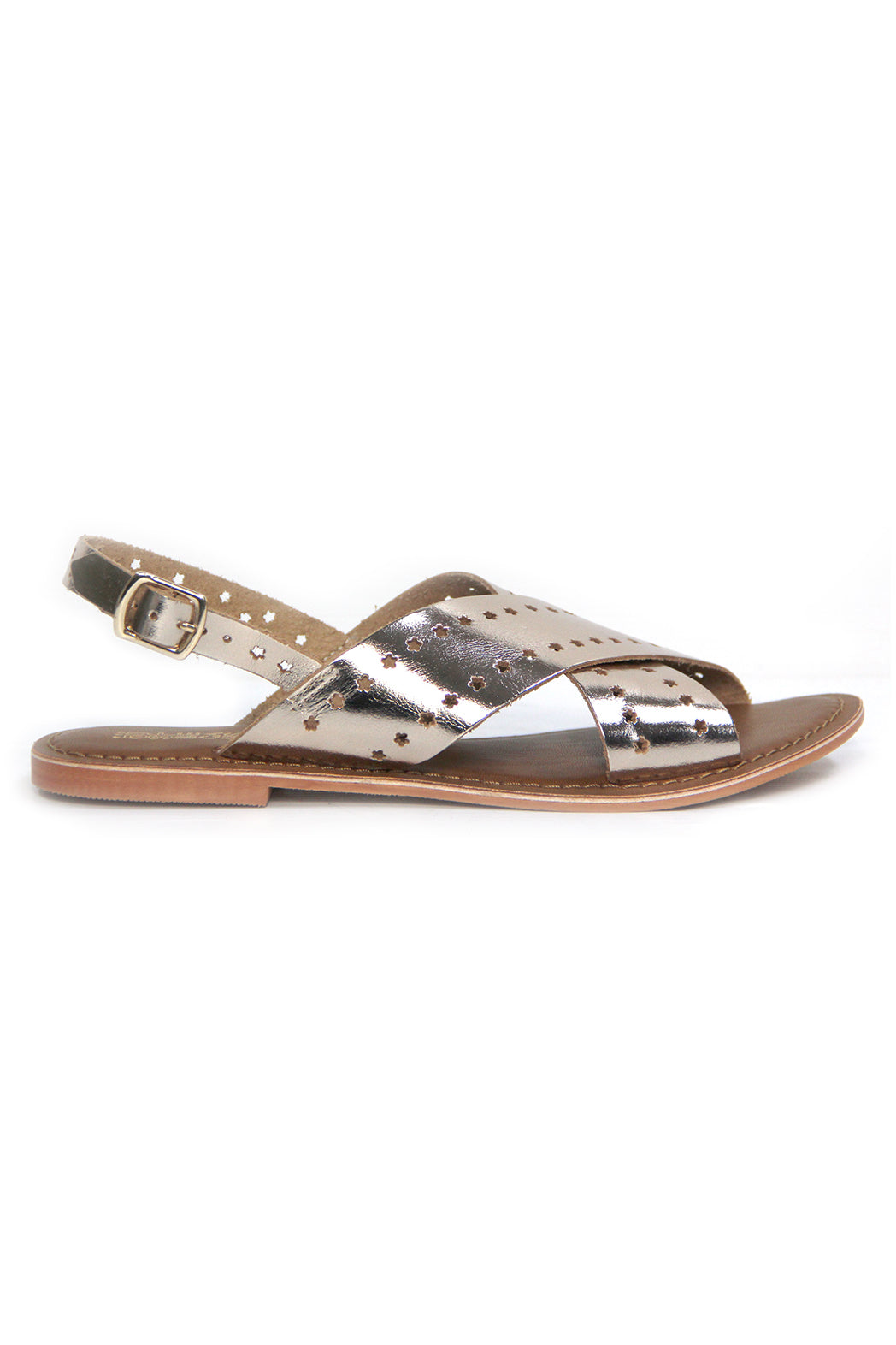 Just Because Malita Sandal in Gold