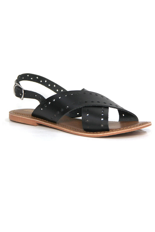 Just Because Malita Sandal in Black
