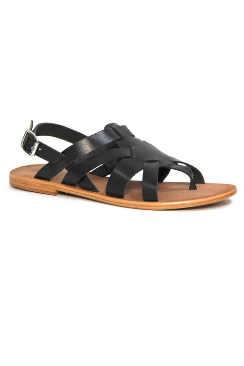 Just Because Tingal Sandals in Black