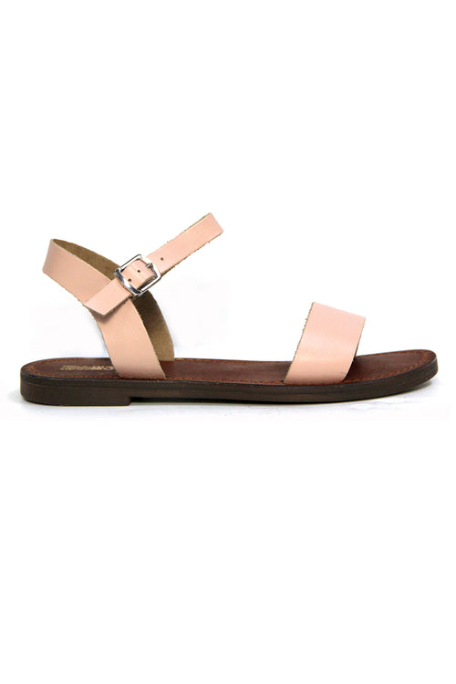 Just Because Mamuca Sandal in Peach