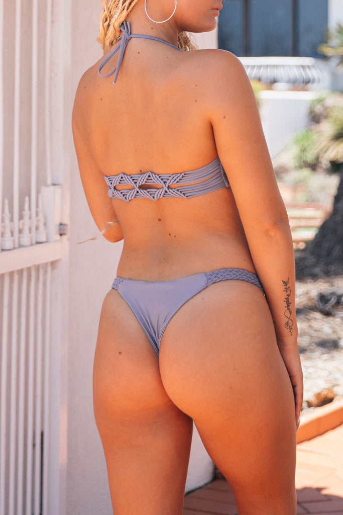 Smoking Mirrors Bikini Bottom Grey