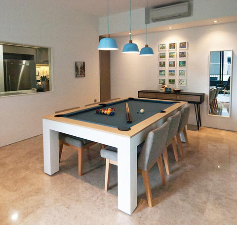 Alexis Dining Pool Table
