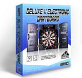 High Quality Electronic Dartboard with Cabinet - CentrumLeisure