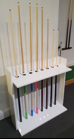 Holiday Pool Cue Stand
