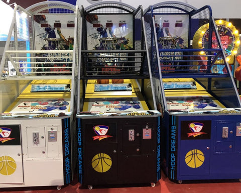 Hoop Dreams Basketball Arcade Machine (Coin-op / Free-play) - CentrumLeisure