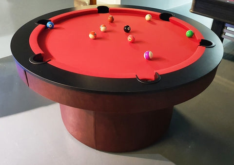 RS Round Pool Table