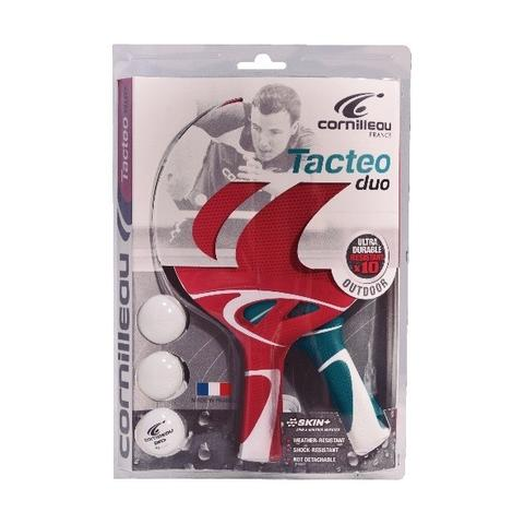 Tacteo Pack Duo Table Tennis Bats - CentrumLeisure