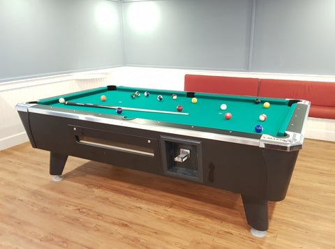 Valley Dynamo Pool Billiard Table (Free Play / Coin-operated) - CentrumLeisure